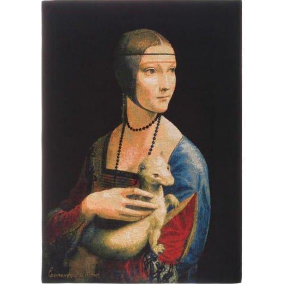 Гобелен Дама с горностаем (Да Винчи)