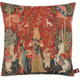 Декоративная подушка Дама с единорогом. Обоняние