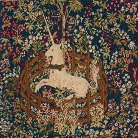 Декоративная подушка Единорог на привязи