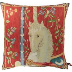 Декоративная подушка Геральдический единорог