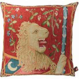 Декоративная подушка Геральдический лев
