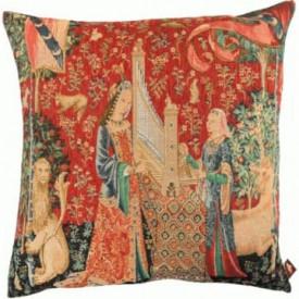 Декоративная подушка Дама с единорогом. Слух