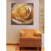 Гобелен Жёлтая роза без бордюра