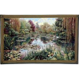 Гобелен Сад 1 (Клод Моне) с бордюром