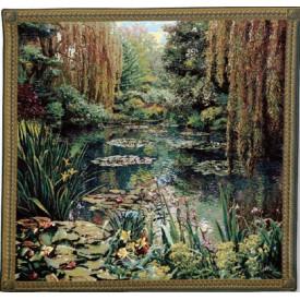 Гобелен Сад 3 с бордюром (Клод Моне)