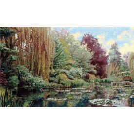 Гобелен Сад Фрагмент 1 (Клод Моне)