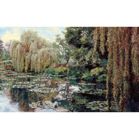 Гобелен Сад Фрагмент 2 (Клод Моне)