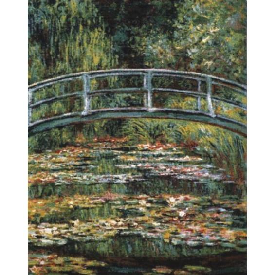 Гобелен Японский мостик без бордюра (Моне)