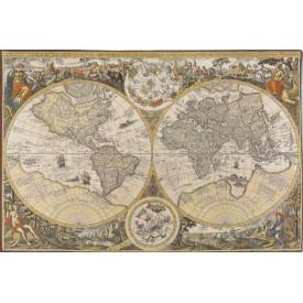Гобелен Карта мира (18 век)