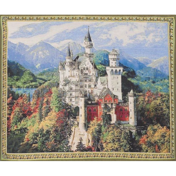 Гобелен Замок Нойшванштайн (яркий)