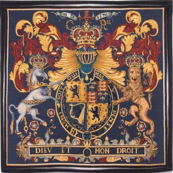 Гобелен Королевский герб
