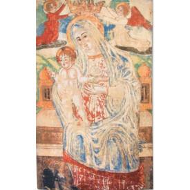 Гобелен Античная мадонна с младенцем