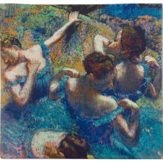 Гобелен Танцовщицы в голубом (Дега)