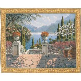 Гобелен Итальянская терраса на озере Комо (Роберт Пежман)