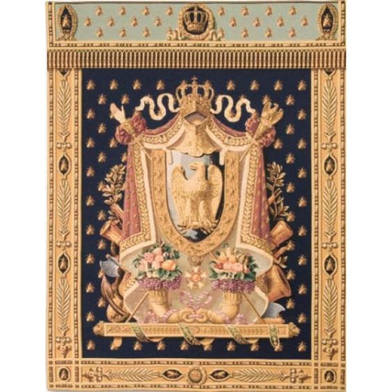 Гобелен Герб Наполеона (тёмно-синий фон)