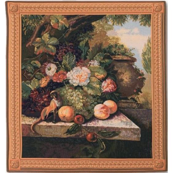 Гобелен Обезьянка с фруктами