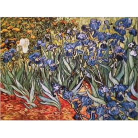Гобелен Ирисы в саду (Ван Гог)