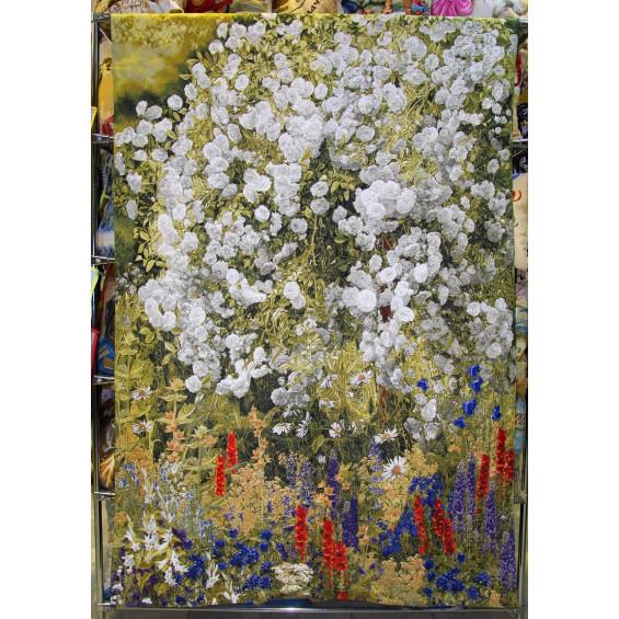 Гобелен Мечта художника (белые розы)