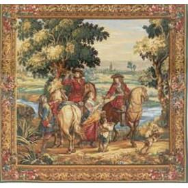 Гобелен Владения короля (фрагмент1)