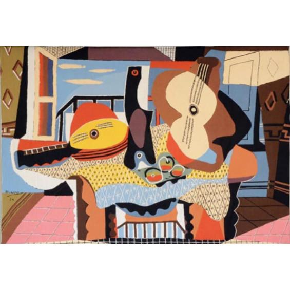 Гобелен Мандолина и гитара (Пабло Пикассо)