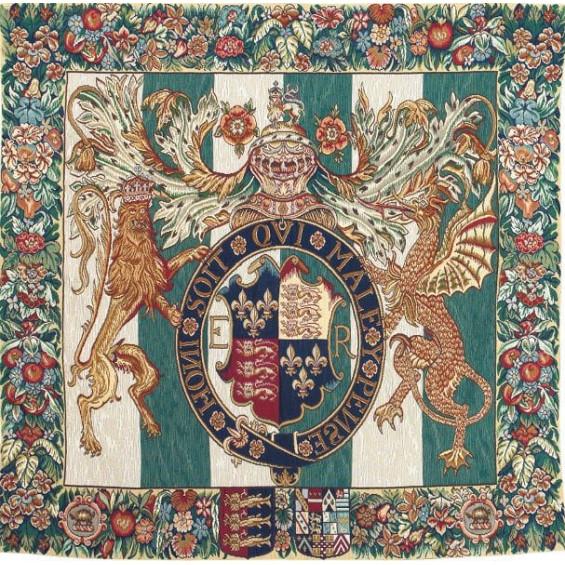 Гобелен Королевский герб Англии