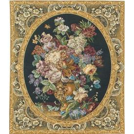 Гобелен Букет цветов в изящной раме