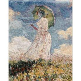 Гобелен Дама с зонтиком (Моне)