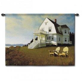 Гобелен Дом на побережье