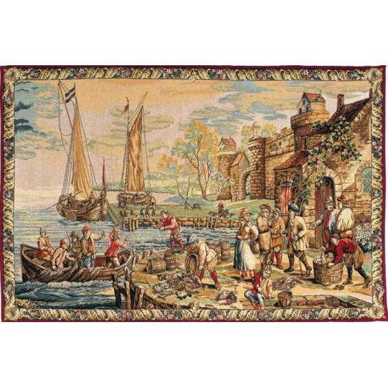 Гобелен Прибытие в порт