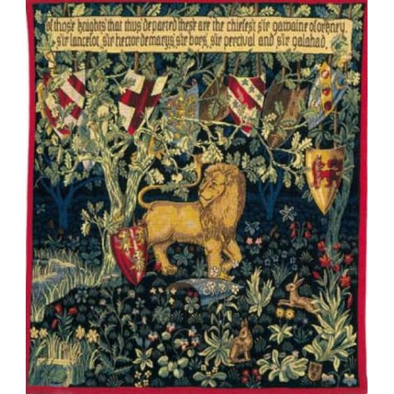 Гобелен Лев и щиты