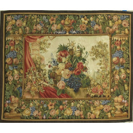 Гобелен ручной работы Букет в стиле барокко