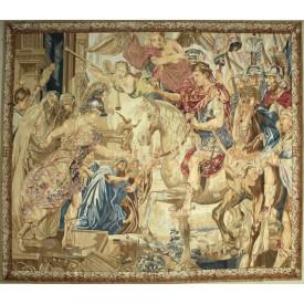 Гобелен ручной работы Въезд Константина в Рим