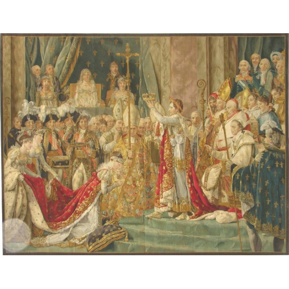 Гобелен ручной работы Коронация Императора