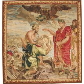 Гобелен ручной работы Основание Константинополя