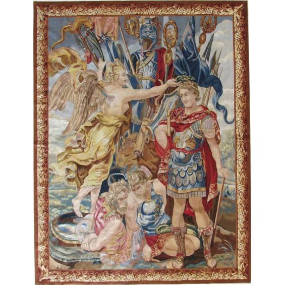 Гобелен ручной работы Трофеи Константина