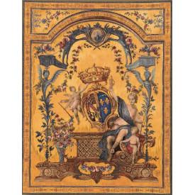 Гобелен Дама с гербом