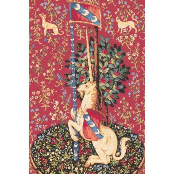 Гобелен Единорог с флагом