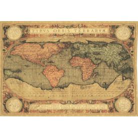 Гобелен Карта мира (шенилл)