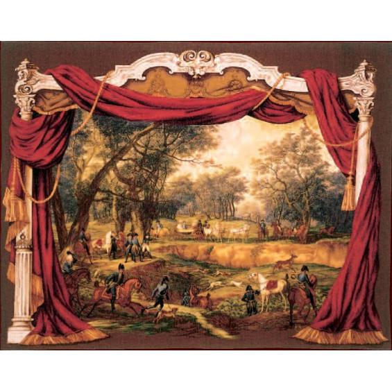 Гобелен Прогулка императора Наполеона