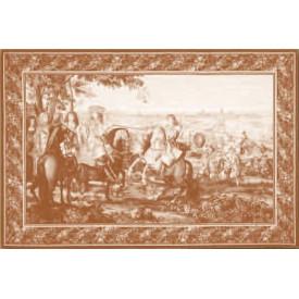 Гобелен Взятие Лилля (сепия)