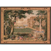 Гобелен Пейзаж с фонтаном