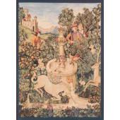 Гобелен Единорог у фонтана (фрагмент)