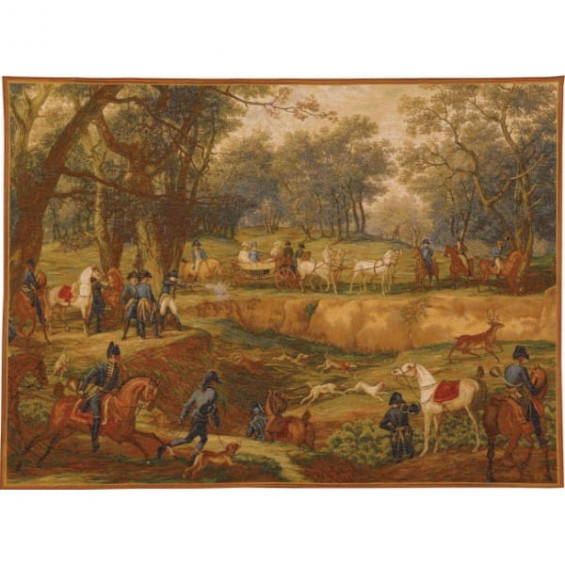Гобелен Охота Наполеона Бонапарта