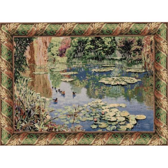 Гобелен Озеро Живерни классическое (Клод Моне)