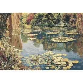 Гобелен Озеро Живерни без уток (Клод Моне) без бордюра