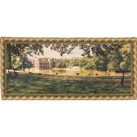 Гобелен Замок принцессы (бордюр из листьев)