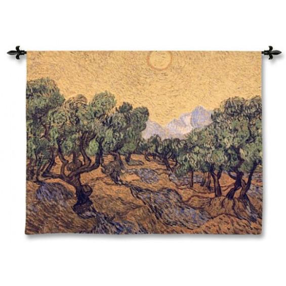 Гобелен Оливковые деревья. Ван Гог